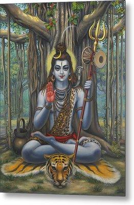 Shiva Metal Print by Vrindavan Das