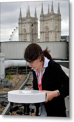Solar Radiation Monitoring Metal Print by Public Health England
