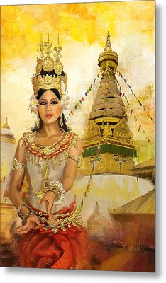 South East Asian Art Metal Print by Corporate Art Task Force