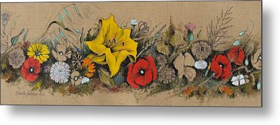 Spring In South Italy Metal Print by Alessandra Andrisani