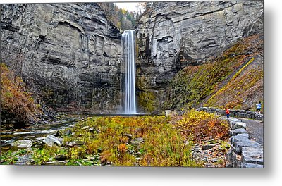 Taughannock Falls Metal Print by Frozen in Time Fine Art Photography