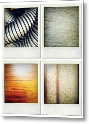 Textures Metal Print by Les Cunliffe