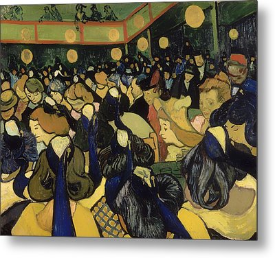 The Dance Hall In Arles Metal Print by Mountain Dreams
