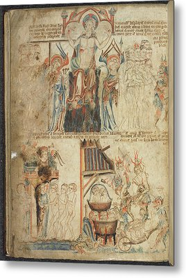 The Last Judgement Metal Print by British Library