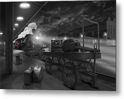The Station Metal Print by Mike McGlothlen