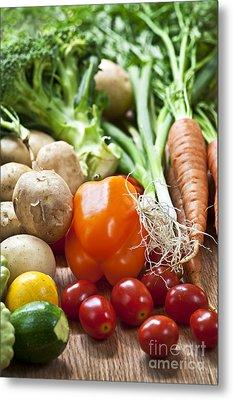 Vegetables Metal Print by Elena Elisseeva
