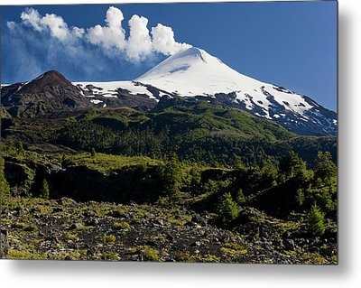 Villarrica National Park, Chile Metal Print by Scott T. Smith
