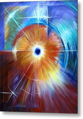 Vortex Metal Print by James Christopher Hill
