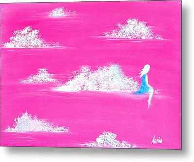 Where Are You? I Feel Alone Again...  Metal Print by Marianna Mills