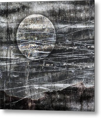 Winter Moon Metal Print by Carol Leigh