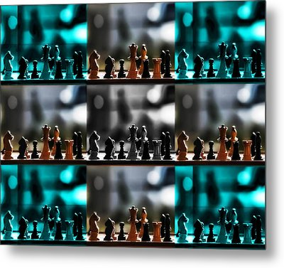 Your Move Metal Print by Camille Lopez