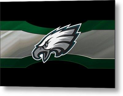 Philadelphia Eagles Metal Print by Joe Hamilton