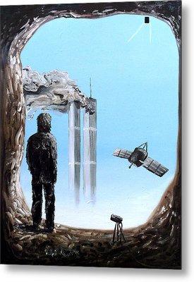 2012-confronting Inevitability Metal Print by Ryan Demaree