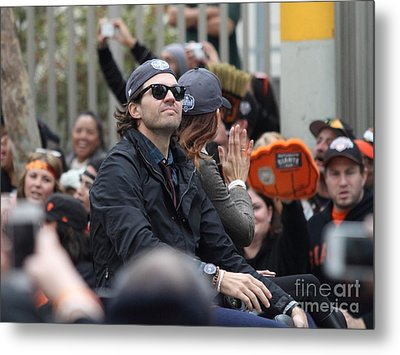 2012 San Francisco Giants World Series Champions Parade - Barry Zito - Img8206 Metal Print by Wingsdomain Art and Photography