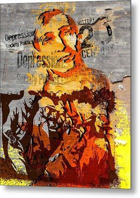 20th Century Depression Metal Print by Jeff Burgess