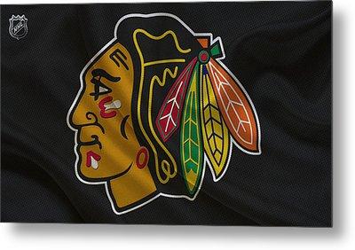 Chicago Blackhawks Metal Print by Joe Hamilton