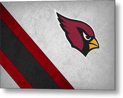 Arizona Cardinals Metal Print by Joe Hamilton