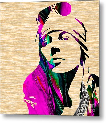 Axl Roxe Collection Metal Print by Marvin Blaine