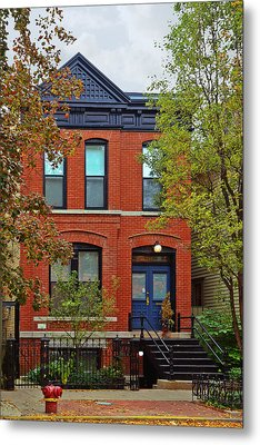22 W Eugenie St Old Town Chicago Metal Print by Christine Till