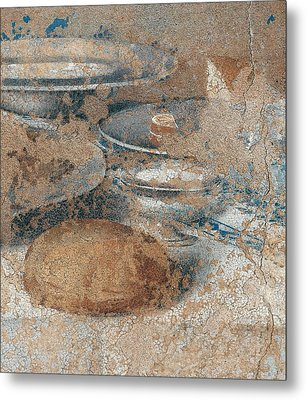 Italy, Lombardy, Milan, Refectory Metal Print by Everett