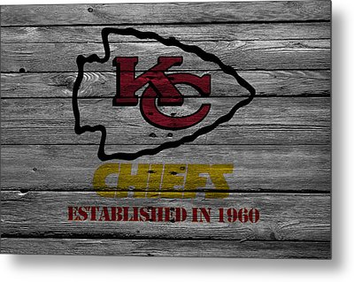Kansas City Chiefs Metal Print by Joe Hamilton