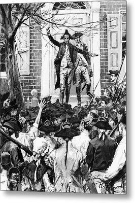 Alexander Hamilton Metal Print by Granger