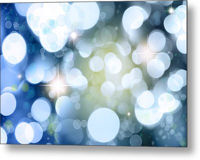 Abstract Background Metal Print by Les Cunliffe