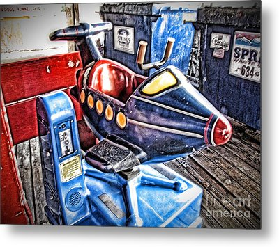 25 Cents Metal Print by Christina Perry