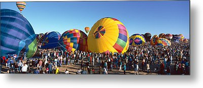 25th Albuquerque International Balloon Metal Print by Panoramic Images