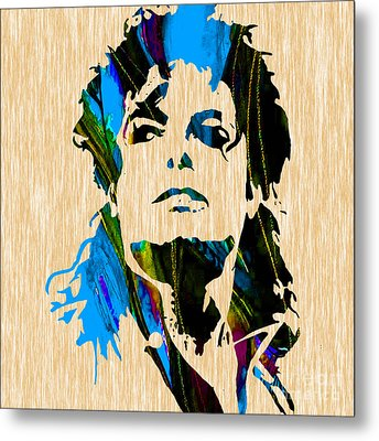 Michael Jackson Metal Print by Marvin Blaine