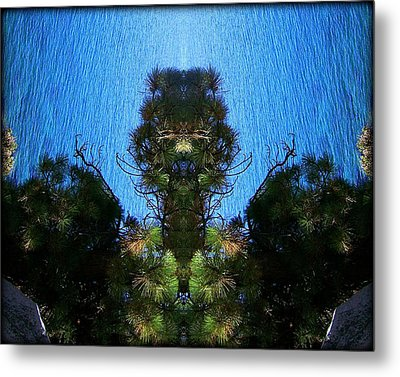 Abstract 50 Metal Print by J D Owen