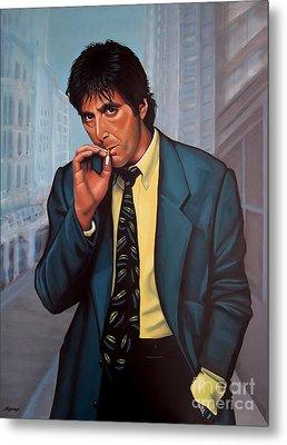 Al Pacino  Metal Print by Paul Meijering