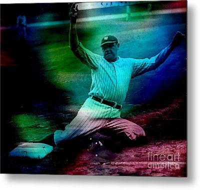 Babe Ruth Metal Print by Marvin Blaine