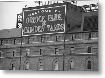Baltimore Orioles Park At Camden Yards Metal Print by Frank Romeo