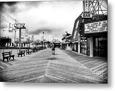 Before The Crowds Metal Print by John Rizzuto