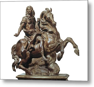 Bernini, Giovanni Lorenzo 1598-1680 Metal Print by Everett