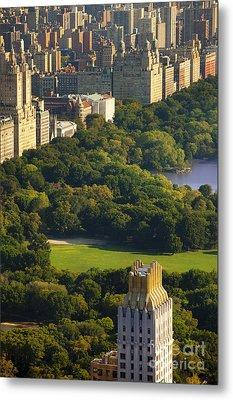 Central Park Metal Print by Brian Jannsen
