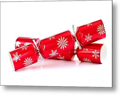 Christmas Crackers Metal Print by Elena Elisseeva