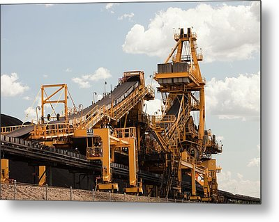 Coal Moving Machinery Metal Print by Ashley Cooper