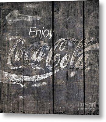 Coca Cola Sign Metal Print by John Stephens