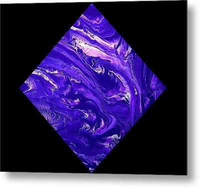 Diamond 202 Metal Print by J D Owen