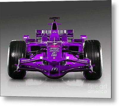 Ferrari Formula 1 Metal Print by Marvin Blaine