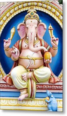 Ganesha Metal Print by Tim Gainey