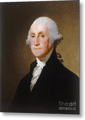 George Washington Metal Print by Gilbert Stuart