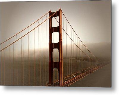 Lovely Golden Gate Bridge Metal Print by Melanie Viola