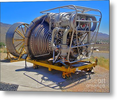John P. Stapp Air And Space Park  Metal Print by Gregory Dyer