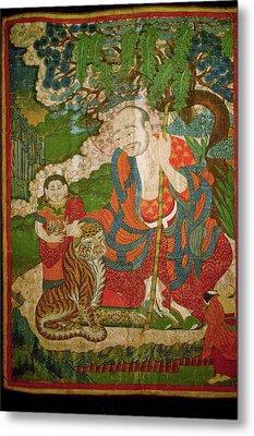 Ladakh, India Pre-17th Century Metal Print by Jaina Mishra