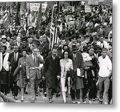 Martin Luther King Metal Print by Retro Images Archive