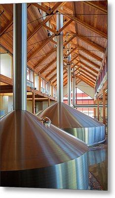 New Belgium Brewery Metal Print by Jim West