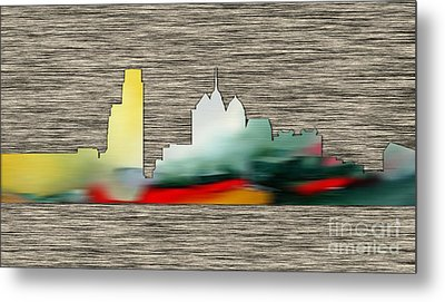 Philadelphia Skyline Metal Print by Marvin Blaine